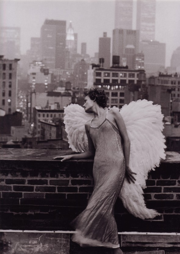 Amber Valletta, Harpers Bazaar, Peter Lindbergh
