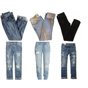 denim, relaxed jeans, boyfriend jeans