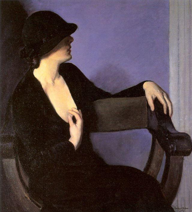 Bernhard Gutmann Study of a Woman in Black, 1932