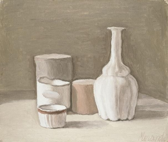 Natura Morta by Giorgio Morandi source, WikiArt