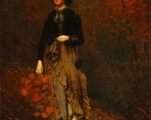 Autumn by Winslow Homer source, WikiArt